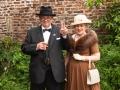 Derek Herbert, Winston Churchill Impersonator & Linda Herbert