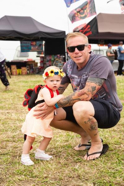 Willow (15 months) & Jamie Clayton