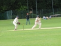 Dan Oldfield guides one away