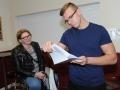 Spalding Grammar School A Level results - Jakub Kosyl gets his results