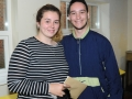 Gaby Taylor earned 2As and a B despite battling with type two a-typical trigeminal, a condition that's left her in constant pain. She and Daniel O'Connor drove all the way from a family holiday in Norfolk for the results. Daniel got an ABC and will study sports psychology at Loughborough. Spalding Grammar School A Level results