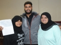 Muhammed-Ali Bhamani is going to study psychology at Coventry. He's pictured here with sister Zainab and mum Samira. Spalding Grammar School A Level results