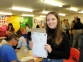 Anna Viller picked up 3As. Spalding High School A Level results