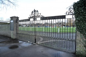 Sir Halley Stewart Playing Field main gates