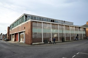 The former Royal Mail sorting office in The Crescent, Spalding. Photo: VNC041215-14